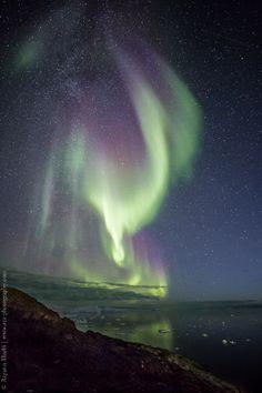 Auroras Taken by Rayann Elzein on September 10, 2016 @ Ilulissat, Greenland
