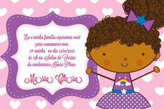 Convite digital personalizado Bonecas 010