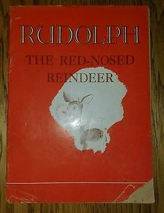 Rudolph The Red Nosed Reindeer 1939 First Edition 2nd Print Price Reduced