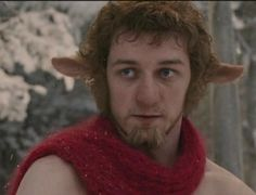 James McAvoy as Mr. Tumnus in The Chronicles of Narnia: The Lion, the Witch and the Wardrobe (2005)