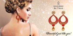Lets ignite your spirit & enchant your soul with this elegant, classy yet much affordable pair of danglers with Burmese rubies and southsea pearl.#Jewellery #Jewlry #Fashion