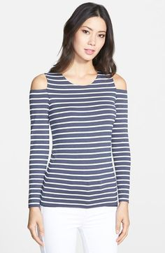 Bailey 44 'Evert' Nautical Stripe Top available at #Nordstrom