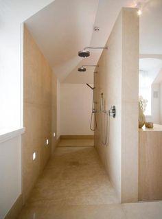 Voor ideeën en plaatsing chajuwan bvba.be.    mooi inspiratiebeeld voor betonlook betonstuc, mortel, betonciré,  microbeton badkamer…