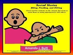 Social Stories Value Pack - behavior; biting; pinching; hitting; etc.  For Autism; Special Education; Nonverbal;
