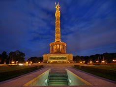 Siegessäule Berlin - nachts