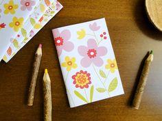 Caderno Flores, do Atelier Joliz