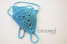 New Waves Barefoot Sandals: Free Crochet Pattern