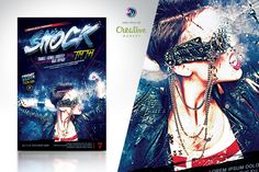 Shock Flyer Template by amorjesu on @creativework247