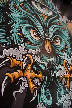 Mike Friedrich: diseñador, tatuador, ilustrador…