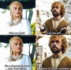 Daenerys Targaryen & Tyrion Lannister - The Gift - Season 5 Episode 7