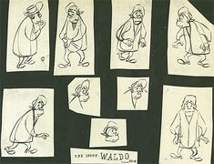 Exhibit: Early 50s UPA Model Sheets - AnimationResources.org - Serving the Online Animation Community
