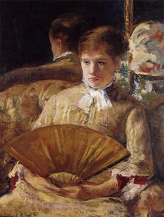 Portrait of a Lady (also known as Miss Mary Ellison),  Mary Cassatt - 1877