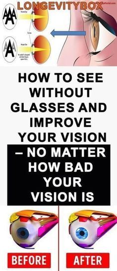 HOW TO SEE WITHOUT GLASSES AND IMPROVE YOUR VISION – NO MATTER HOW BAD YOUR VISION IS! #improveyourvision