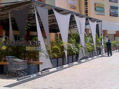 vertical shade sails - Google Search
