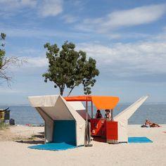 Matali Crasset : Bibliothèque de plage