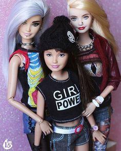 Beautiful Barbie Dolls, Vintage Barbie Dolls, Barbie Family, Barbie Friends, Barbie And Ken, Ooak Dolls, Have A Great Day, Fashion Dolls, Girly