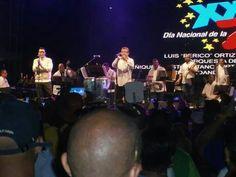 Luis Perico Ortiz con Domingo Quinones en el dia de la Salsa, march 17, 2014.