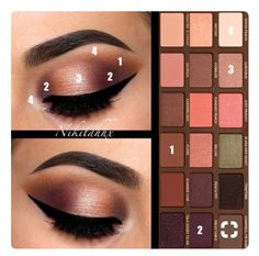 Makeup Vanity Ikea an Natural Smokey Eye Makeup On Brown Skin around Makeup Looks Natural Brown Skin Makeup, Smokey Eye Makeup, Eyeshadow Makeup, Makeup Brushes, Makeup Storage, Makeup Organization, Maquillage Too Faced, Peach Palette Looks, Makeup Tips To Look Younger