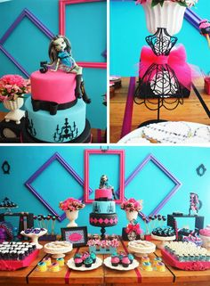 Monster High Party with Lots of Cute Ideas via Kara's Party Ideas | KarasPartyIdeas.com