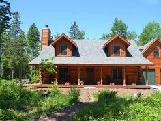 Sister Bay Vacation Rental - VRBO 116351 - 4 BR Door County House in WI, Door County Log Home.....LOVE