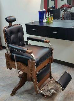 Vintage Emil J Paidar Barber Chair Barber Shop