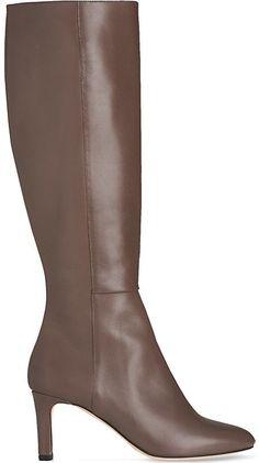 3a28f7fff35 LK BENNETT Eloria leather knee boots