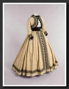 Dress with bolero jacket.