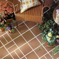 Check out this fun quarry tile from the American Olean Quarry Naturals collection, the perfect outdoor quarry tiles for your backyard project!