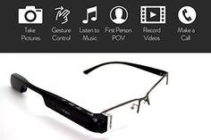 DigiOptix 32GB Smart Glasses 1080P HD Camera Video Glasses Bluetooth for Smart Phone Hand-free Phone Answer/Call Music Function 399.00  #A12megapixelcameraisbuiltintotheglassessoeveryonecanseetheworldthroughyoureyes #CaptureEveryMoment #DigiOptix #DigiOptix16G #HD1080pvideoisonlyapressofthebuttonorsmallgestureaway...