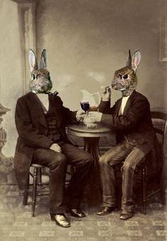 Rabbit gentlemen from Charlotte Cory