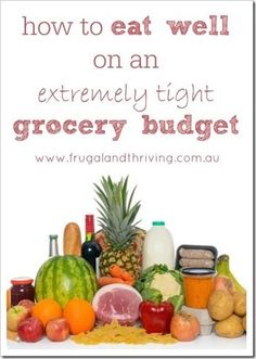 It is possible to eat well on a budget. Here are the tricks to do it!