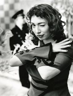 Regina Spektor.  One thing I think a lot of people don't know about me is that my voice is what it is what it is because I had Cantors (the ones who sing the prayers in Temple) on both sides of my family. I hear so much of that style of singing in Regina's voice everytime I listen to her sing. Plus, her lyrics...whew!! Nails it,more often than not.