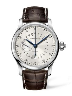 O novo relógio da Longines, o Twenty-Four Hours Single Push-Piece Chronograph