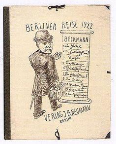 Max Beckmann   Berliner Reise  Portfolio of ten lithographs on wove paper  700 x 560 mm. (overall)  (Ronny van de Velde, Antwerp)         published by I. B. Neumann, Berlin, 1922