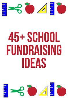 school fundraising ideas 5 wacky fundraising ideas that really work Pta School, School Clubs, School Fundraisers, School Events, School Ideas, School Auction, School Projects, School Stuff, School Carnival