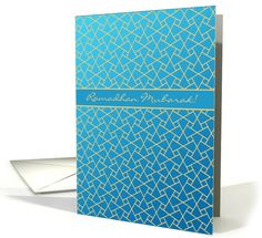 Ramadan Mubarak Card: Blue, Gold-effect Islamic Pattern: up to $3.50, depending on quantity and special offers. Also shipped from the UK! http://www.greetingcarduniverse.com/holiday-cards/ramadan-cards/general-ramadan/ramadan-mubarak-card-blue-gold-effect-1291494?gcu=43752923941