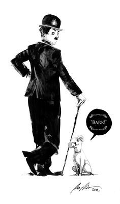Rafael Albuquerque on Charlie Chaplin...I would read that comic book.
