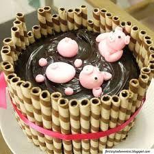 resultado de imagen para decorar tortas caseras faciles