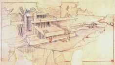 frank lloyd wright drawings - Google Search