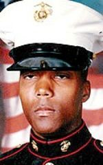 Marine LCpl. Marcus Mahdee, 20, of Fort Walton Beach, Florida. Died May 9, 2005, serving during Operation Iraqi Freedom. Assigned to 3rd Battalion, 8th Marine Regiment, 2nd Marine Division, II Marine Expeditionary Force, Camp Lejeune, North Carolina. Died of injuries sustained when an enemy mortar round exploded near his position during combat operations near Karmah, Anbar Province, Iraq.