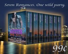 Romancing Austin 7 stories by 7 great authors One Wild Party A multi-genre contemporary romance anthology Release. New Books, Books To Read, Paranormal Romance, Book Nooks, Preston, First Night, Novels, Party, 99 Cents