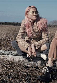 Fernanda Ly by Benny Horne for Vogue Australia June 2015