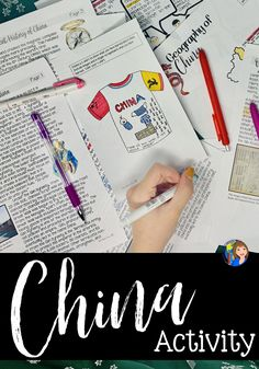 Learn about China in this fun activity. Social Studies Classroom, Social Studies Resources, Teaching Social Studies, Teaching Tools, Geography Activities, Teaching Geography, Hands On Activities, Study History, World History