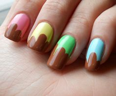 ImageFind images and videos about cute, photography and nails on We Heart It - the app to get lost in what you love. Beauty Make Up, Hair Beauty, Chocolate Fashion, Nail Designs Pictures, Hair And Makeup Tips, Favim, Cute Nails, Nail Colors, Fashion Beauty
