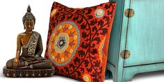 global fusion exotic home decor