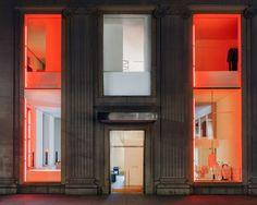 Calvin Klein Dan Flavin 1996 2016 Collection Store Installation 4