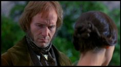 From the 1996 film starring William Hurt and Charlotte Gainsbourg. Jane Eyre 1996, Jane Eyer, Charlotte Bronte Jane Eyre, William Hurt, Toby Stephens, Charlotte Gainsbourg, Movies Worth Watching, Young Female, Michael Fassbender