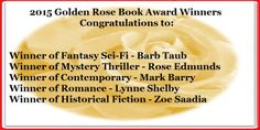 I just wantto thank everyone who has made 2015 a fantastic year here on Rosie Amber's book review blog. By the close of midnight on December 31st I will have read 192 books in this year's Goodread...