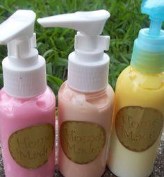 Fruity shea butter body lotions!$12