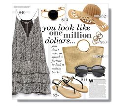 """One million dollars"" by clovers-mind ❤ liked on Polyvore"